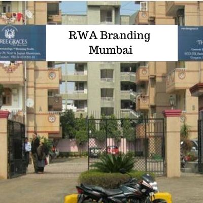 RWA Society Gate Branding agency in Mumbai, RWA Advertising in Airoli Naka Mumbai