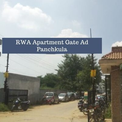 Residential Society Advertising in Apex Apartments Panchkula, RWA Branding in Panchkula