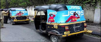 Auto Rickshaw Advertising agency in Ludhiana,Auto Advertisement Rates,Transit Media Rates
