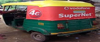 Auto Rickshaw Advertising in Ahmedabad