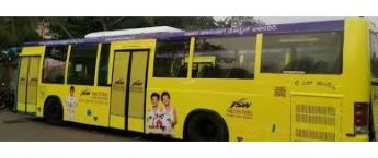 Bus Advertising, BMTC Bus Branding