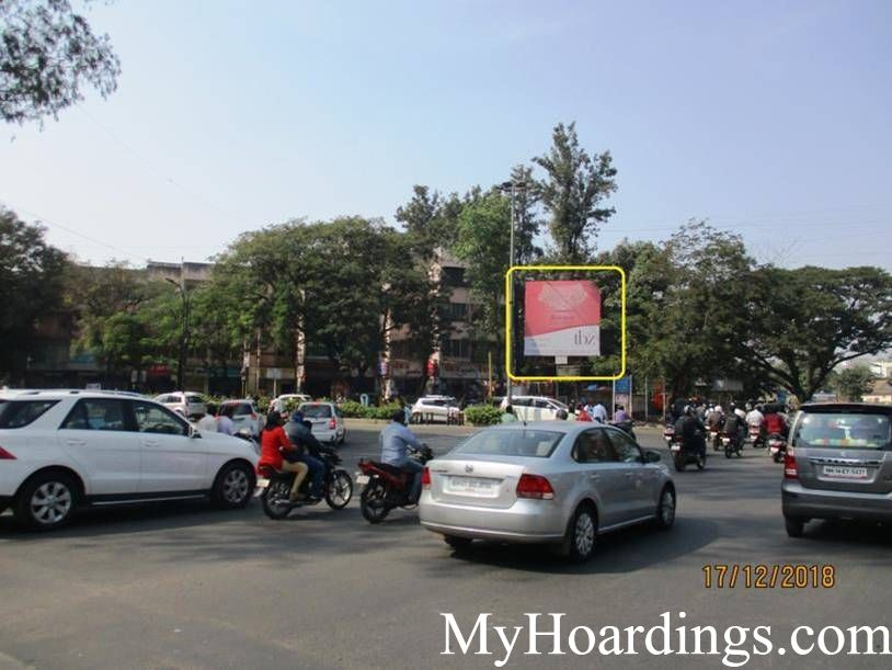 Hoardings Advertising Agency Aundh Breman Chowk in Pune, Pune Hoardings Advertising Company, Flex Banner in Pune