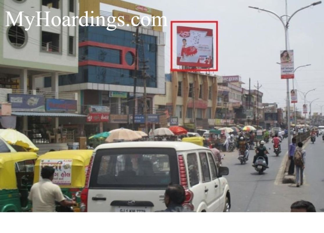 Billboard Advertising and Brand Promotion agency Bus Stand Road in Modasa