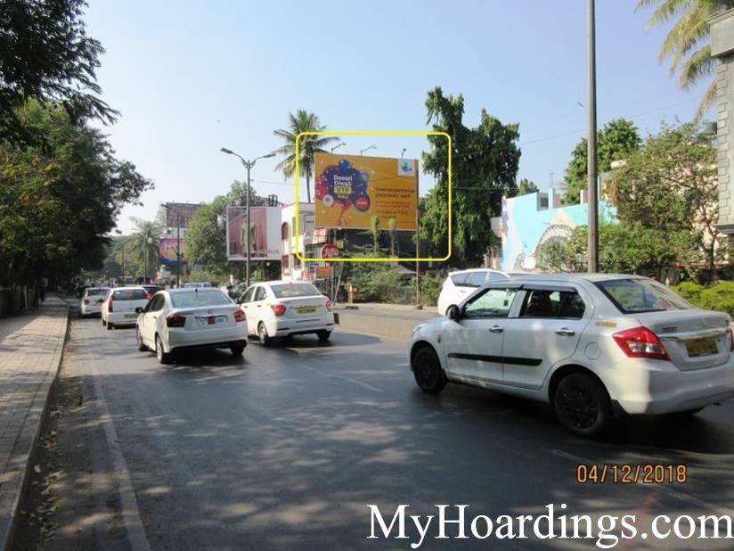 Unipole on Koregaon Park North Main Road in Pune, Billboard Company in Koregaon Park North Main Road in Pune, Flex Banner