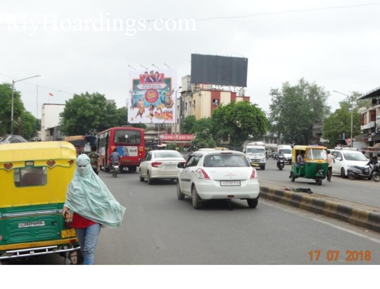 Billboard at 10 Acr Mall lake in Ahmedabad, Best Outdoor Hoardings Advertising Company Ahmedabad