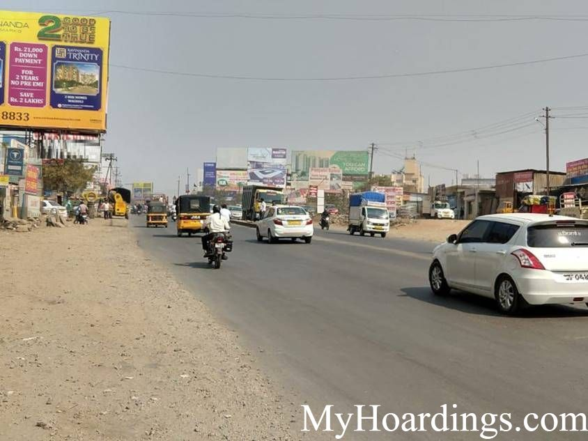 Wagholi Opp. CNG Pump Billboard Advertising and Brand Promotion Agency in Pune, Flex Banner