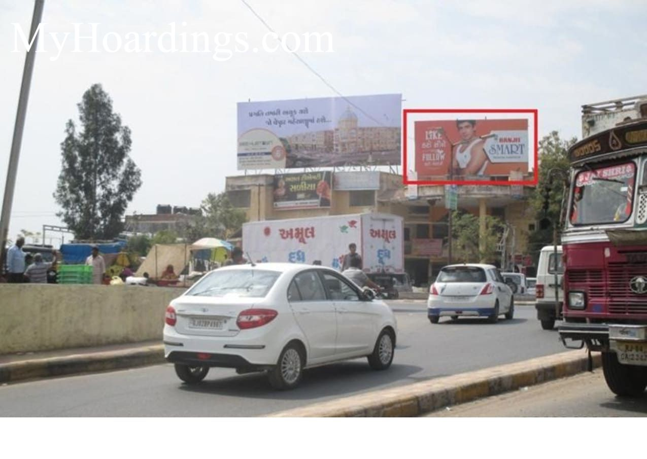 Bus Stand Circle in Unjha Billboard advertising, Advertising company Unjha, Flex Banner