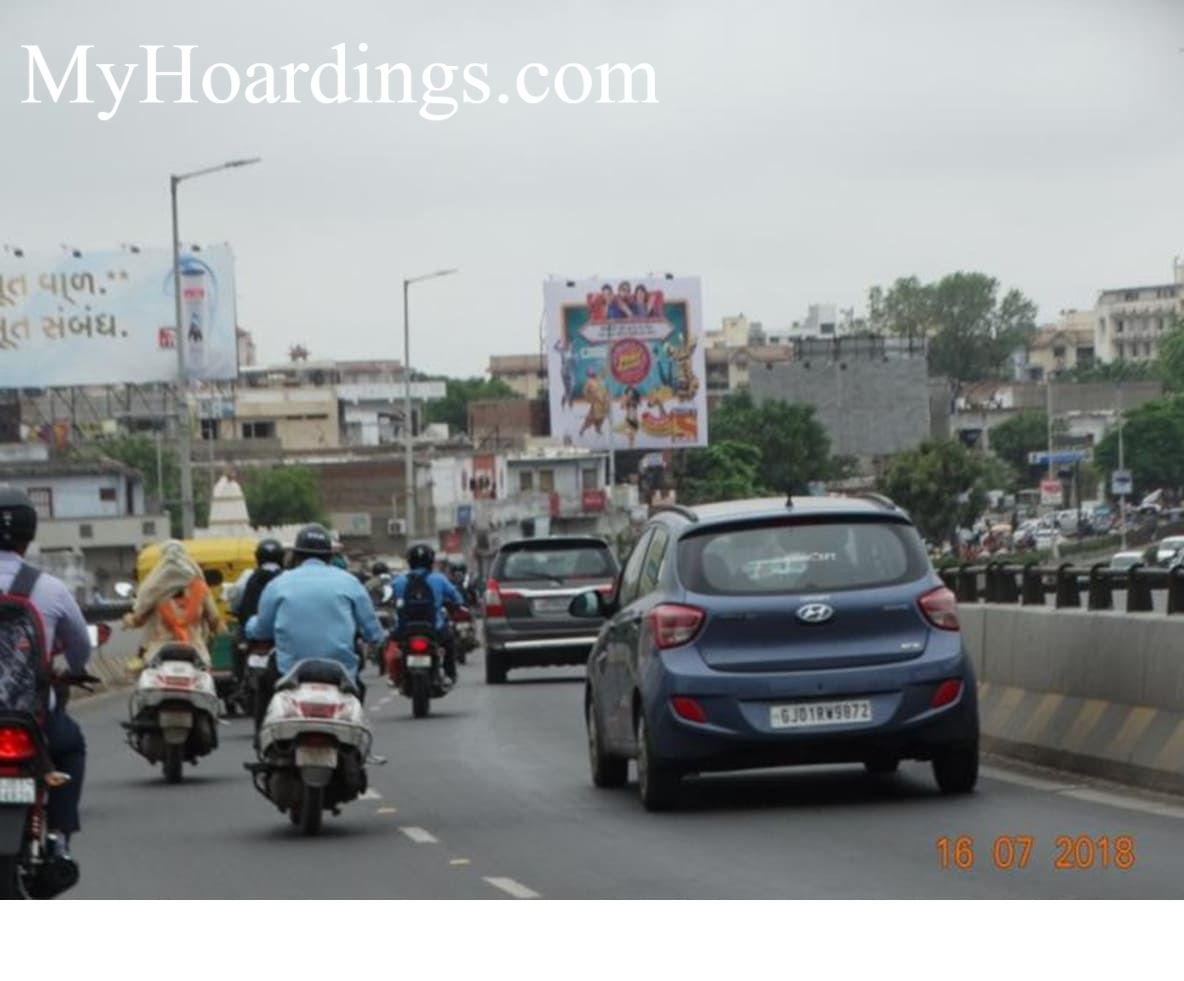 Book Flex Banner Online in Ahmedabad, OOH Ads Company Naranpura AEC Fly Over in Ahmedabad