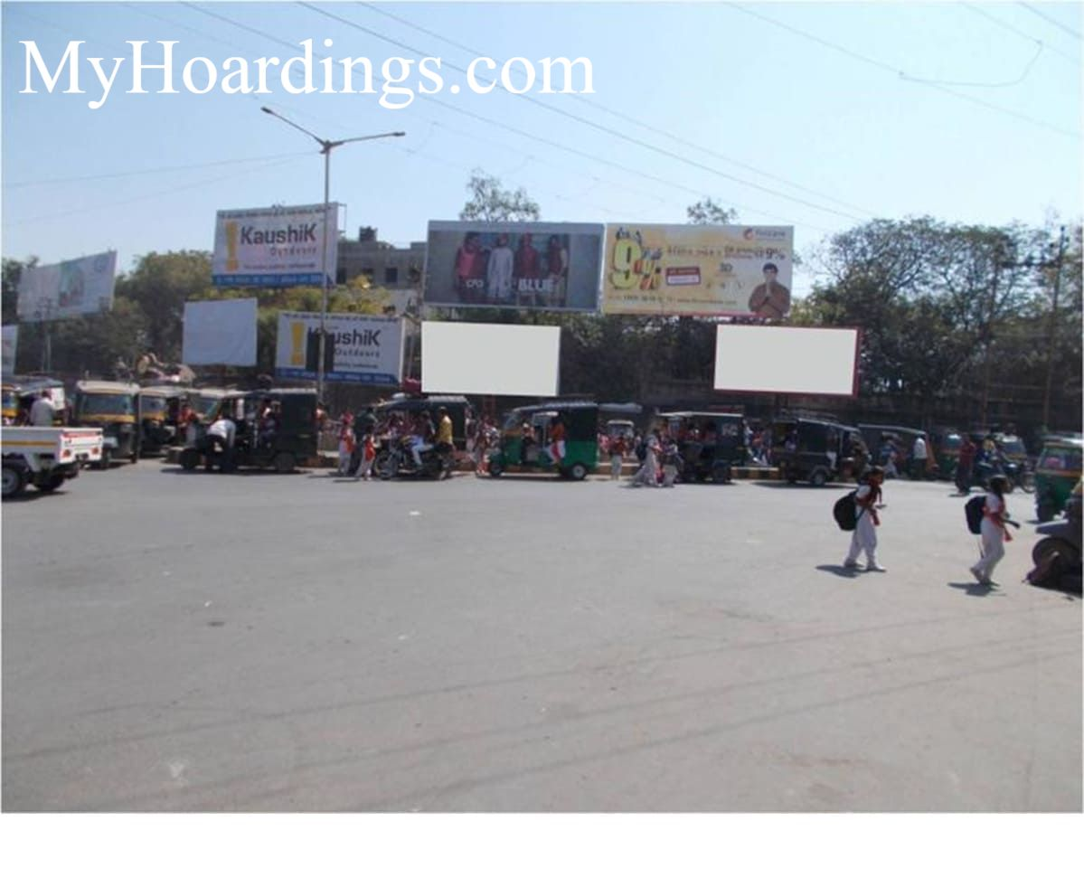 Unipole Advertising Neelambaug in Bhavnagar, Bhavnagar Billboard advertising,Hoarding agency in Gujarat