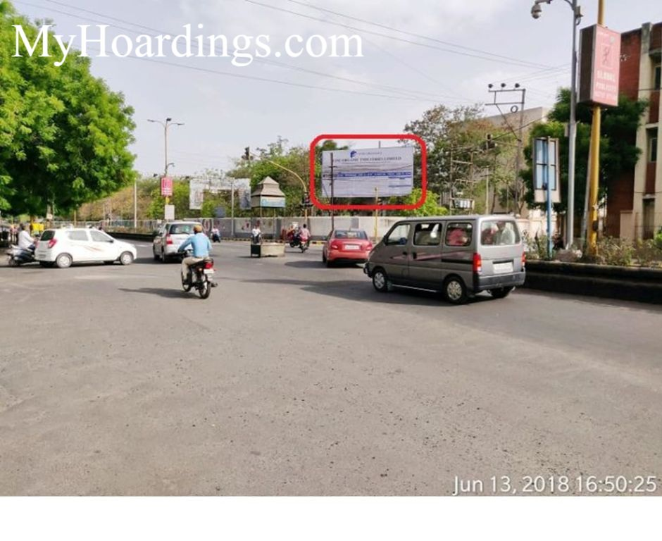 Book Hoardings Online in New Collector Office in Rajkot, Billbord company Rajkot