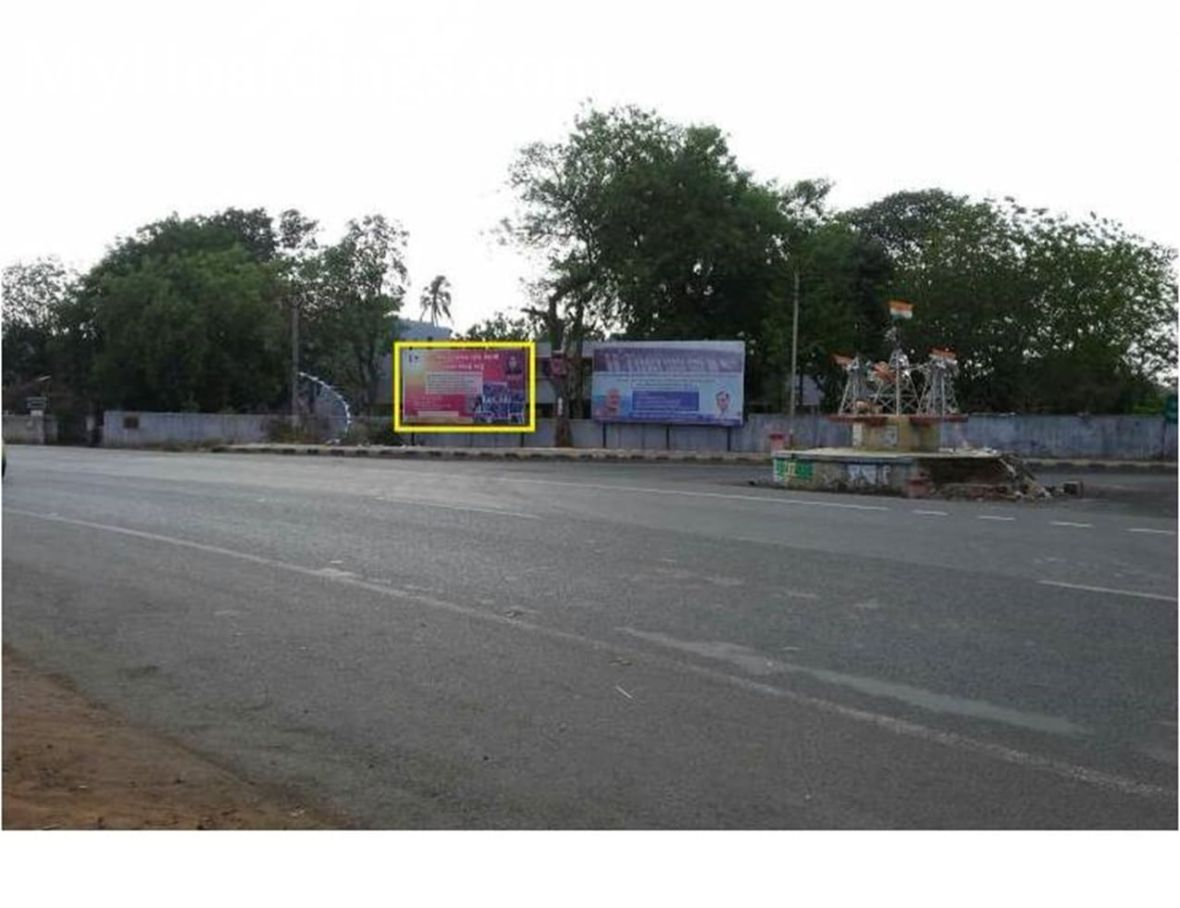 Billbord Advertising and Brand Promotion Agency Nivalda Mission in Dediapada,Outdoor Advertising rights in Gujarat