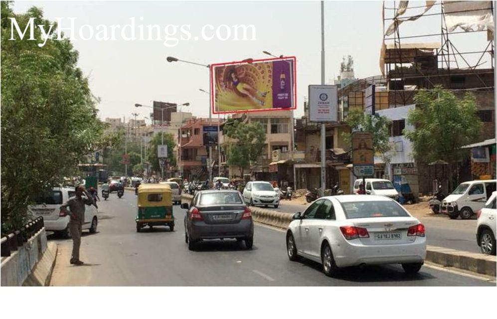 Best OOH Ad agency in Sola Fly Over Bridge in Ahmedabad, Unipole Company Ahmedabad