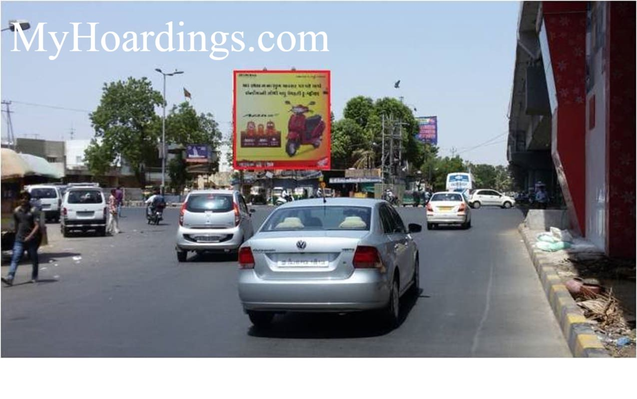 Outdoor Advertisement Billbord in VIP Road Near Amit nagar in Baroda, Best outdoor advertising company Baroda