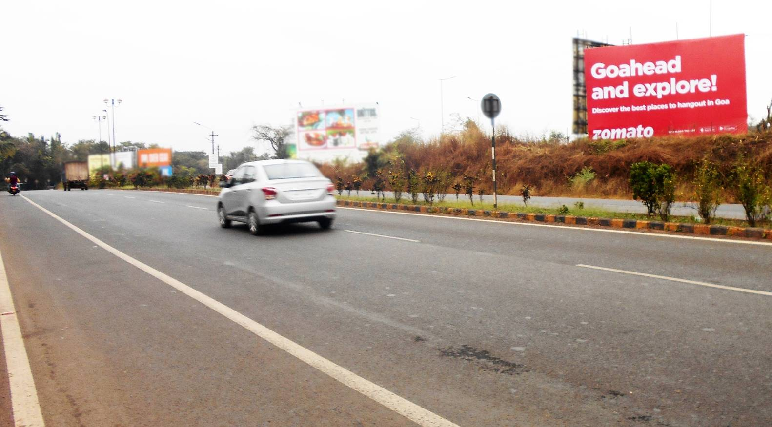 OOH Advertising Goa, Unipole Agency at Guirim ftf Panjim to Mapusa, Flex Banner, Branding company in Goa,Goa Billboards,Brand promotion in Goa