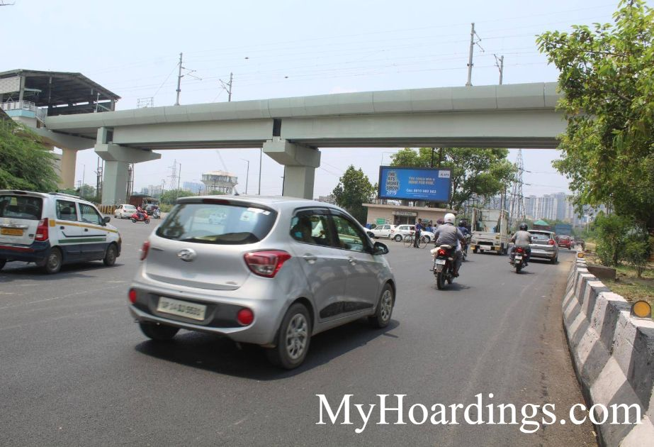 How to Book outdoor advertising Agency in NSEZ Metro Station Noida Sec-82 Noida