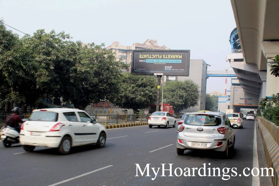 How to Book Hoardings in Noida, Best outdoor advertising company Sector 62 Metro Station Near Fortis Hospital in Noida