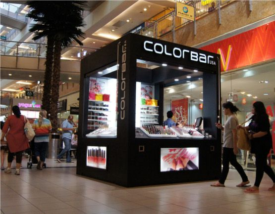 Kiosk Branding in High Street Phoenix Mall, Mumbai