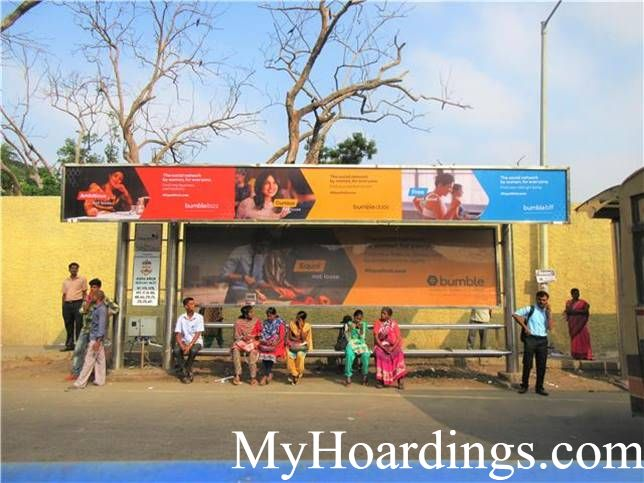 How to Book Hoardings in Chennai, Best Advertise company on Anna Arch Bus Stop 1 in Chennai