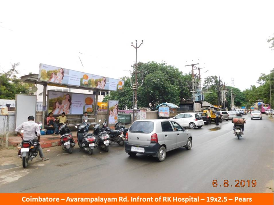 Outdoor Media Agency Coimbatore, Hoardings Advertising company Coimbatore, Bus Shelters in Coimbatore, Tamil Nadu