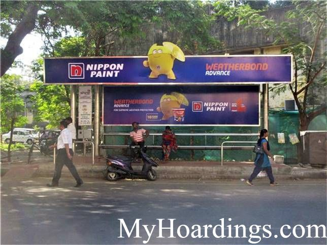 How to Book Bus Queue Shelter Hoardings AdvertisingCID Quaters Bus Stop in Chennai, Tamil Nadu