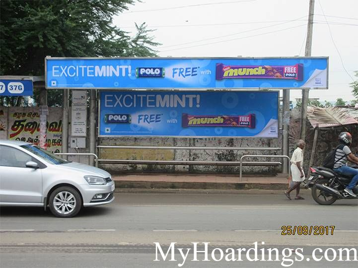 Billboard Advertising Agency in Chennai, Bus Shelter Branding Company in Chennai, Hoarding rates in Chennai