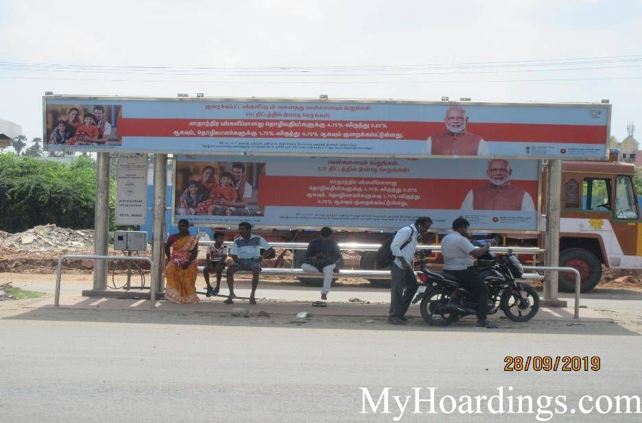 Agraram Opp Bus Stop Advertising, Advertising Company Chennai, Flex Banner in Chennai