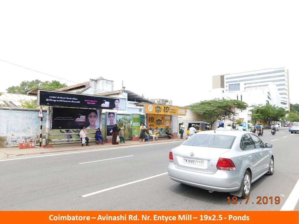 Billboard Advertising Agency in Coimbatore, Bus Shelter Branding Company in Coimbatore, Hoarding rates in Coimbatore