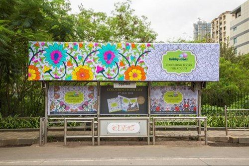 Bus Stop Ads at Lad Wadi Kalbadevi Bus Stop in Mumbai, Best Hoardings Advertising company in Mumbai