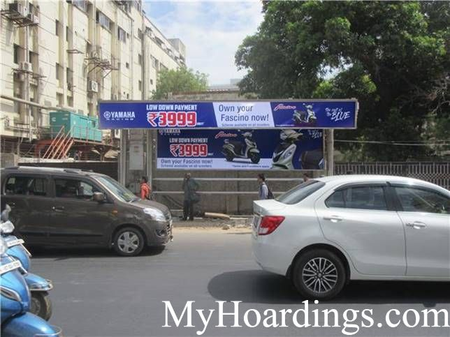 Bus Stop Ads at Dhashaprakash Opp Bus Stop in Chennai, Best Hoardings advertising company in Chennai