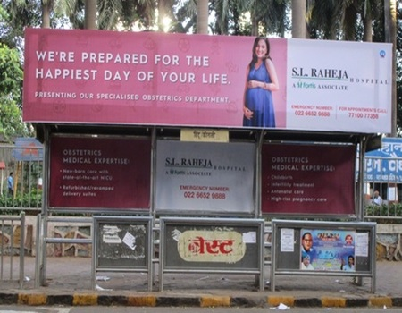 OOH Advertising Mumbai, Bus Stop Advertising in Hanuman Nagar, Hoardings Agency in Mumbai