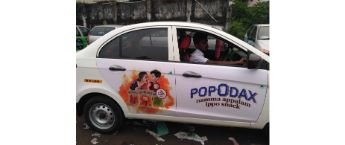 Cab Branding in Delhi,Car advertising in Delhi