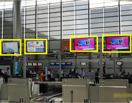 Advertising at Hyderabad Airport,Airport Billboards in Hyderabad
