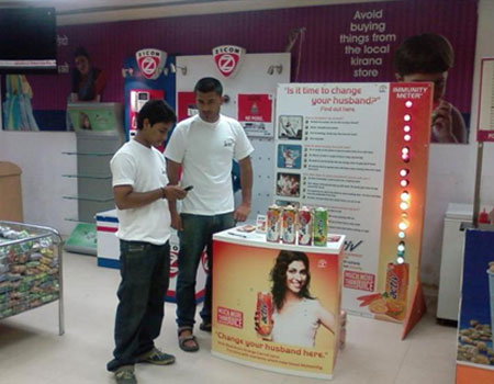 Kiosk Branding in Divyasree Technopolis IT park