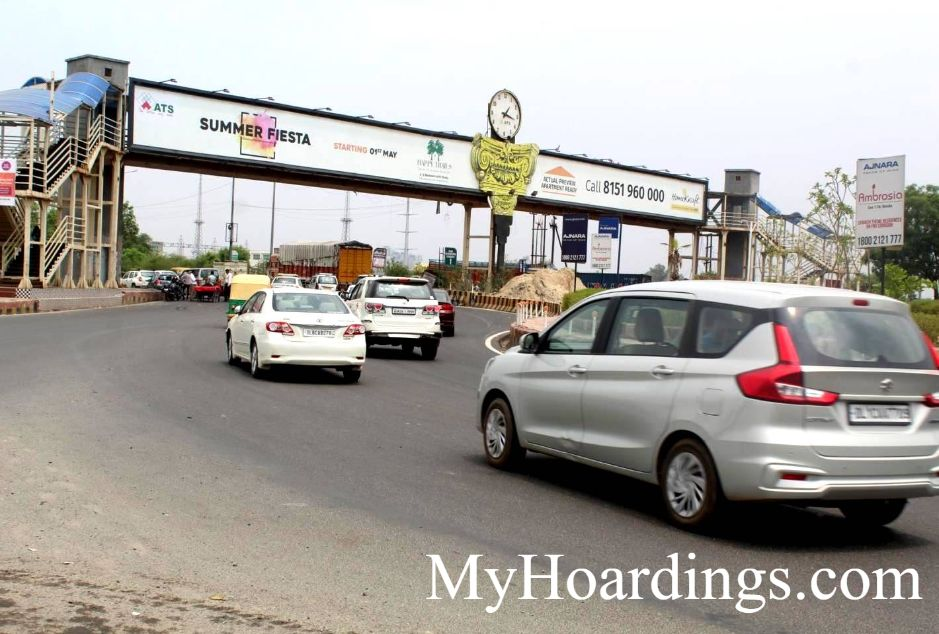 Outdoor Media Promotion Advertising in Noida, Hoardings Agency in Sec-121 & 122 FNG Round Noida