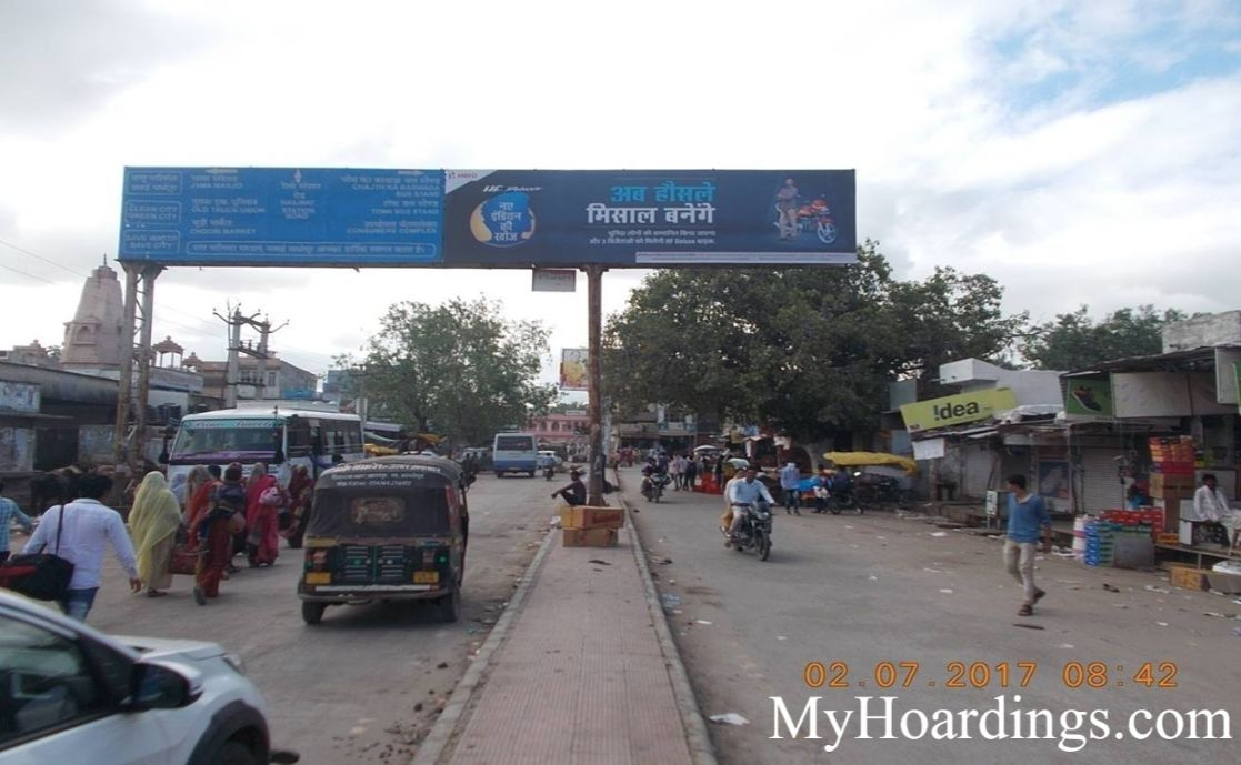 How to Book Hoardings in Madhopur, Best Gantry Outdoor Advertising Agency Madhopur
