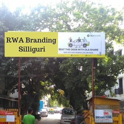 RWA Advertising options in Gokul Apartments Silliguri, Society Gate Ad company in Silliguri West Bengal