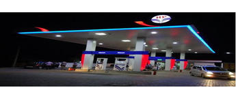 Indian Oil petrol pump station advertising Bangalore, Branding on Petrol pumps company Bangalore