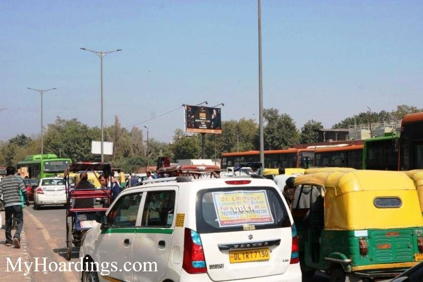 How to Book Unipole in Lal Quila Metro Station Gate No. 3 New Delhi, Best Outdoor Advertising Agency New Delhi