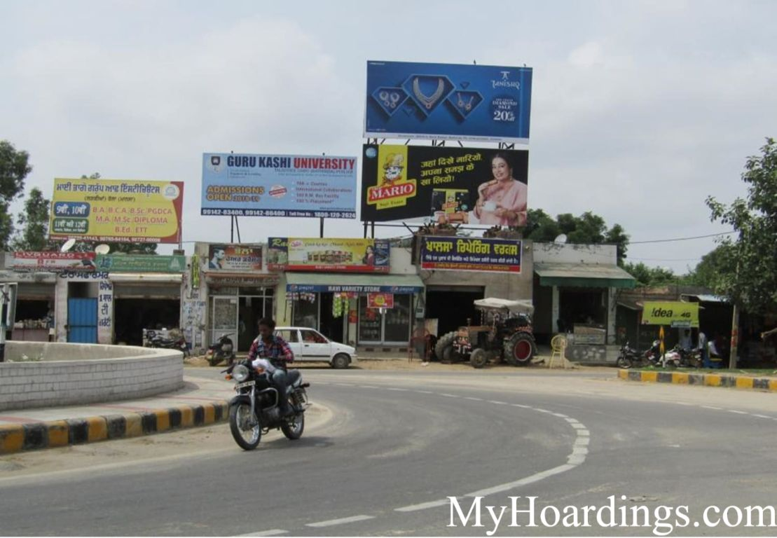 OOH Advertising Mansa, Outdoor Publicity Companies, Hoardings Agency in Mansa,Outdoor Publicity in Punjab