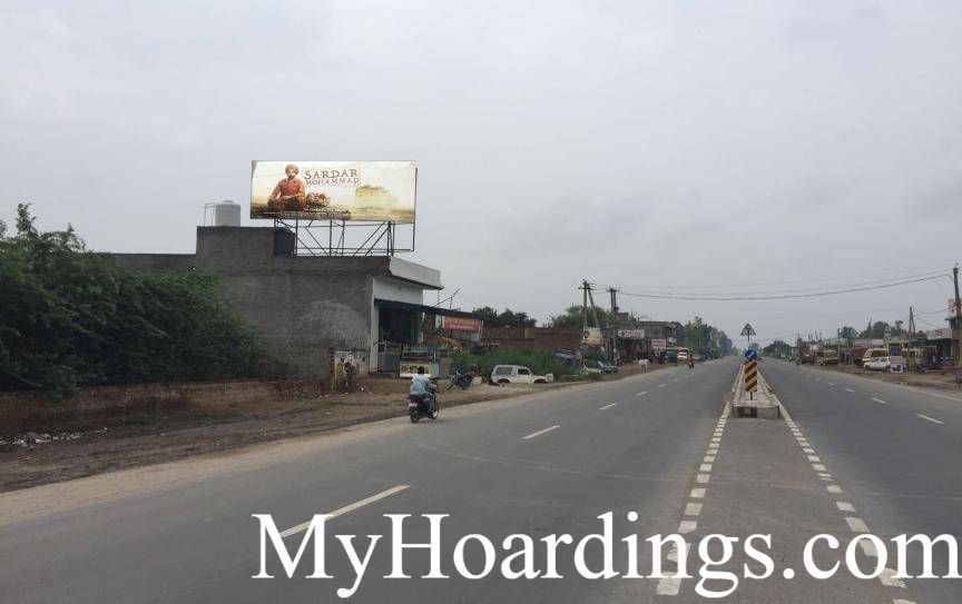 OOH Advertising Bathinda Chowk Bus Stand Road in Mansa, Outdoor Publicity Companies Mansa, Hoardings Agency in Mansa