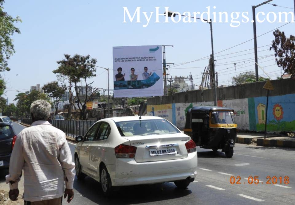 Borivali SV Road Mumbai Flex Banner Billboard advertising, Advertising company Mumbai