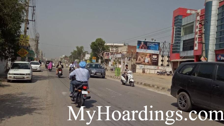 Sangrur Hoardings Company, Outdoor Media Agency CL Tower Bus Stand Road in Sangrur, Advertising company Sangrur