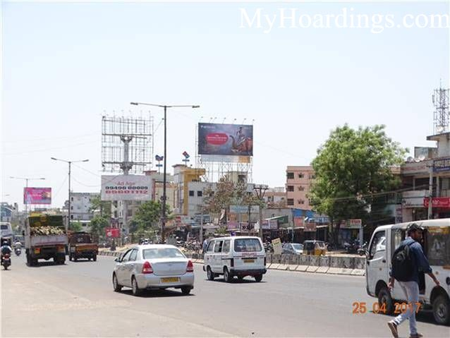 Outdoor Media Promotion advertising in Miyapur Dominos Pizza Hyderabad, Hoardings Agency in Hyderabad