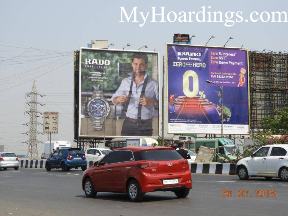 Flex Banner Hoardings rates in Sion On EEH At Chunabhatti Mumbai, Hoardings company Mumbai