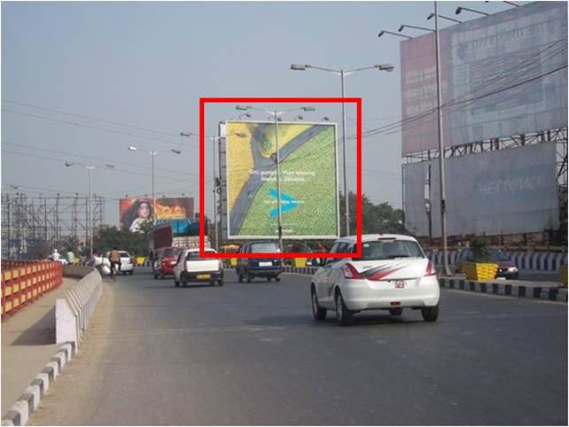 Hoardings at Technopolis Flyover Kolkata