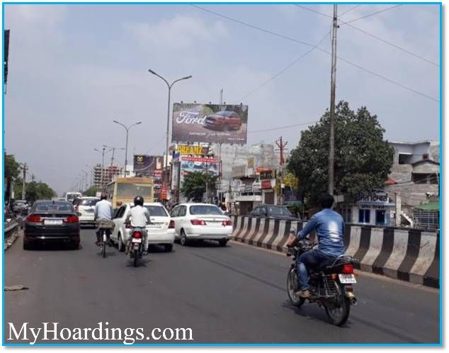 OOH Billboard Agency in India, Hoardings Advertising in High Court Facing Faizbaad Road Lucknow