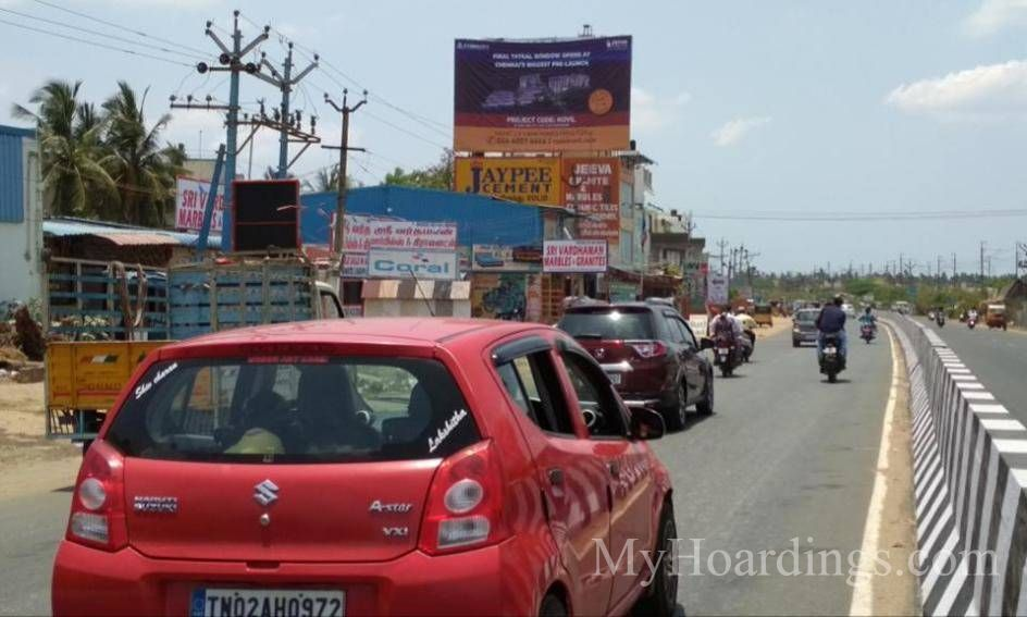 Outdoor Media Promotion advertising in Avadi Chennai, Hoardings Agency in Chennai