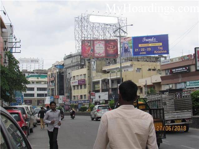 How to Book outdoor advertising Agency Himayth Nagar Hyderabad