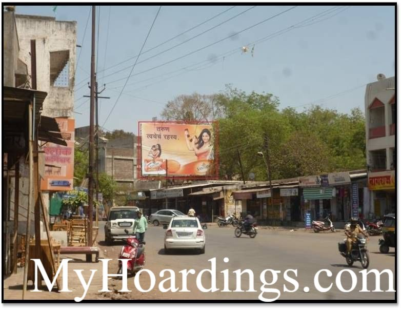 Outdoor Media Promotion Advertising in Aurangabad, Hoardings Agency in Khadkeshwar to Aurangpura in Aurangabad
