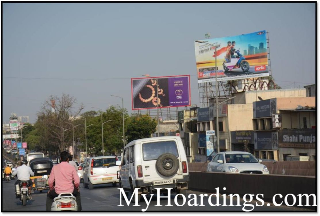 How to Book outdoor advertising Agency in Mondha Naka, Jalna Road in Aurangabad,Hoarding in India